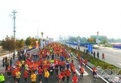 甘肃靖远首届国际马拉松赛半程赛圆满落幕