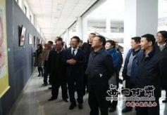 陈万里个人刻纸艺术展在甘肃民族师范学院举办
