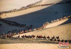 甘肃省敦煌沙漠