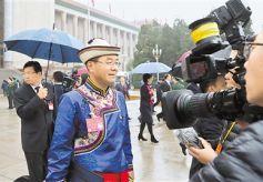 甘肃省代表出席党的十九大闭幕会侧记