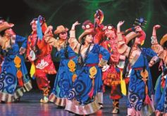 甘肃省民族歌舞团首演令美国观众如醉如痴