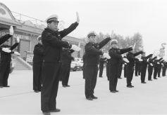 甘肃兰州市高新区禁毒、消防、交通安全员培训结业仪式