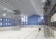 甘肃省兰州市全民健身中心项目主体结构顺利封顶