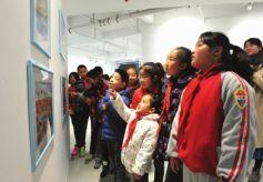 甘肃兰州市举行少年儿童优秀艺术作品联展