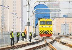 甘肃兰州地铁建设进行时