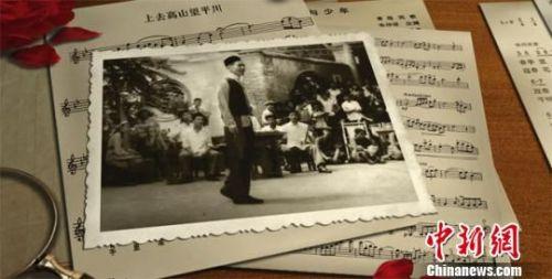 图为朱仲禄生前演出画面。 钟欣 摄