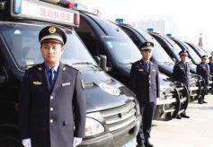 甘肃省兰州市举行城管执法队伍换装仪式