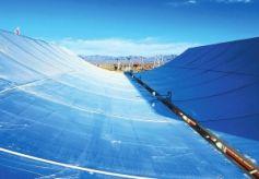 甘肃酒泉阿克塞县首期50兆瓦高温槽式熔盐光热发电项目
