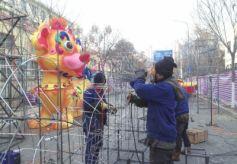 2018甘肃金城西固迎春灯会将于2月8日开灯