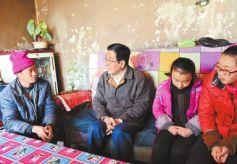 林铎在甘肃临夏州永靖县调研脱贫攻坚工作