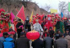 甘肃省通渭县:文化大拜年 扶志奔小康