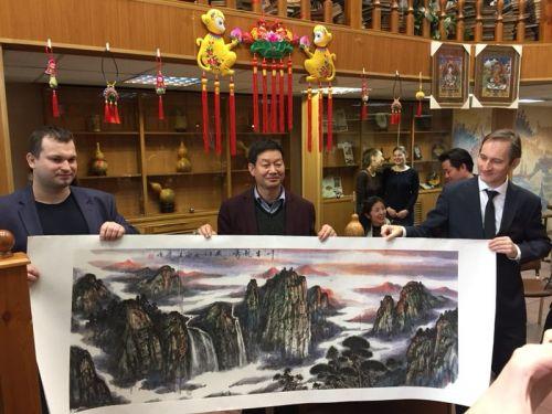 张掖民间画家庞俊作品展示  图片由庞俊本人提供