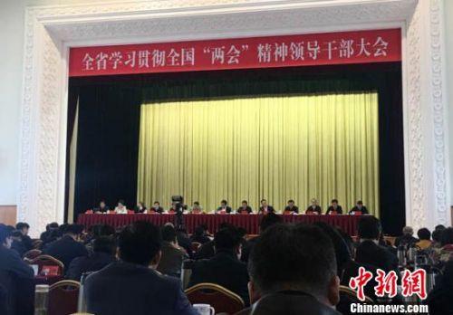 甘肃省委书记:力争成为文化旅游融合发展先行区
