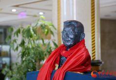 戏剧理论家、史学家王正强先生铜像落成仪式在兰州举行