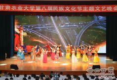 甘肃农业大学第八届民族文化节文艺晚会成功举办