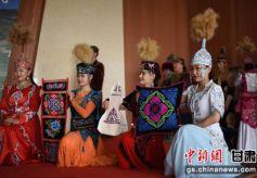 甘肃阿克塞县传统文化遗产魅力四射