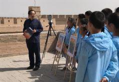甘肃教师直播教学传承丝绸之路历史文化