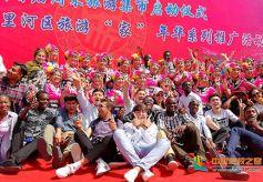 甘肃组织留学生参加兰州首届周末旅游集市系列推广活动