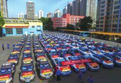 甘肃兰州:千辆爱心送考车服务考生