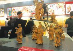 甘肃高校非遗传承培训成果展在省博举办