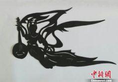 """甘肃剪纸传承人:多彩""""飞天""""促其延续手艺"""