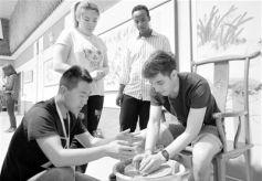 多国留学生到甘肃进行文化交流