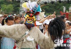 甘肃省陇南第三届白马人民俗文化旅游节在开幕