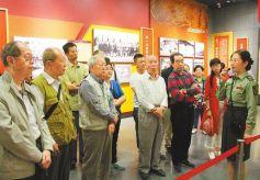 甘肃红军会宁会师旧址吸引大批游客前往
