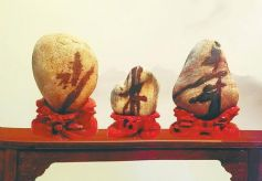 甘肃黄河奇石收藏家边德铭的石头情怀