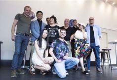 中国当代艺术家王清州作品展在柏林举行