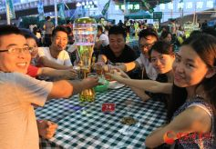 甘肃兰州将举办啤酒节市民共享欢乐仲夏夜