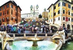 兰州本土艺术家采风团在意大利采风创作