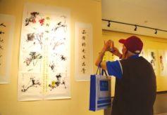 甘肃省残疾艺术家作品在兰州展出
