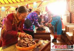 甘肃省肃北县少数民族特色村寨开放