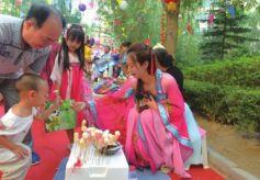 """兰州社区举办""""梦回大唐""""传统化主题活动"""