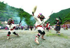 甘肃省文县白马人东亚大陆上最为古老的部族