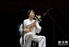 《敦煌国乐——中国国乐名家音乐会》在敦煌大剧院演出