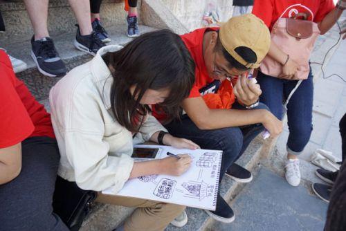 甘肃:港澳台大学生走进丝绸之路 体验西北历史与文化遗产