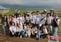 """香港内地青年在甘肃行走 """"对话""""多民族社区发展"""