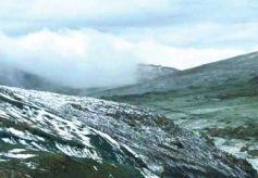 甘肃祁连山国家级自然保护区肃南段降雪