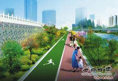 金城兰州将再建2924米黄河河道健身步道