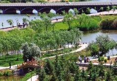 高台县真正让城市融入大自然 让历史文脉得以延续