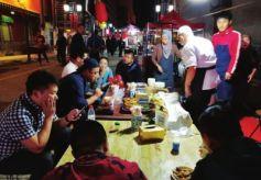 饮食文化传承特色别有风味 兰州特色夜市成精致城市新名片
