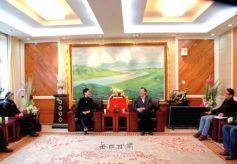 河北省美协副主席王稳苓教授聘任为甘肃民族师范学院客座教授