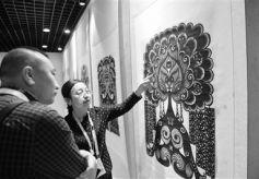 非物质文化遗产展:百余件艺术品打开了甘肃又一扇窗