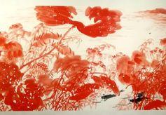 首届孙海宁水墨丹青国画展在甘肃省博物馆开幕