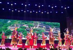 甘肅隴南《印象白馬》民俗表演在隴南武都區舉行