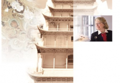 甘肃省书画名家国际文化交流笔会在兰州白云宾馆举行
