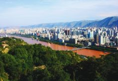 """绿化工程改变兰州城市形象 南北两山成为漂亮""""背景墙"""""""