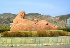 黄河风情线大景区旅游形象标志兰州元素厚重